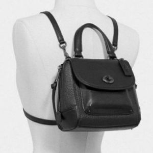 Coach convertible backpack